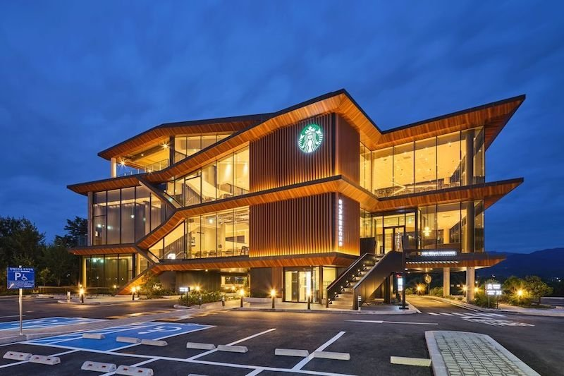 Starbucks Yangpyeong is one of the most iconic Starbucks in Korea