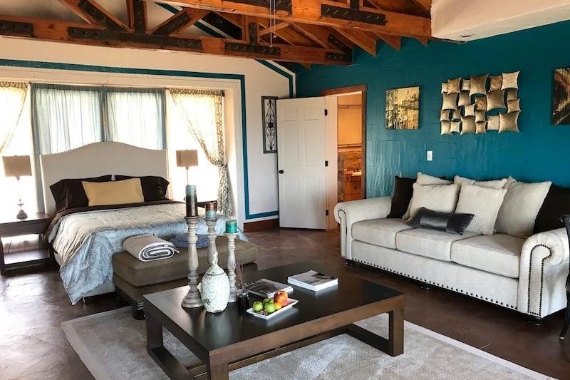 Bedroom in Malibu