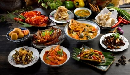 Embark on a regional gastronomic tour with true flavours of Southeast Asian cuisine at Window on the Park
