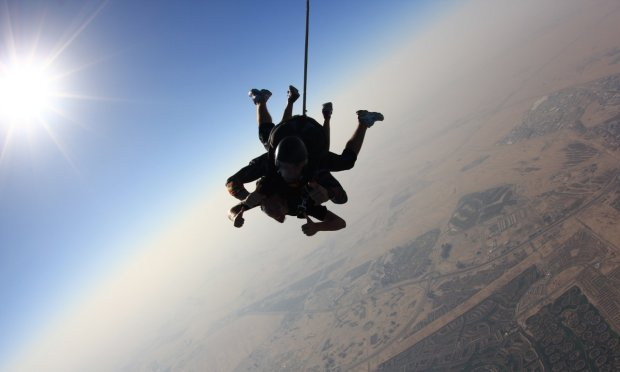 activities in Dubai skydiving