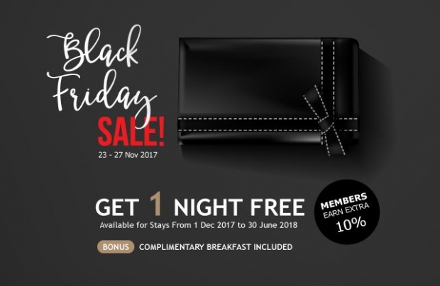 Get 1 Night FREE in Mandarin Orchard when you Book your Stay this Black Friday Special