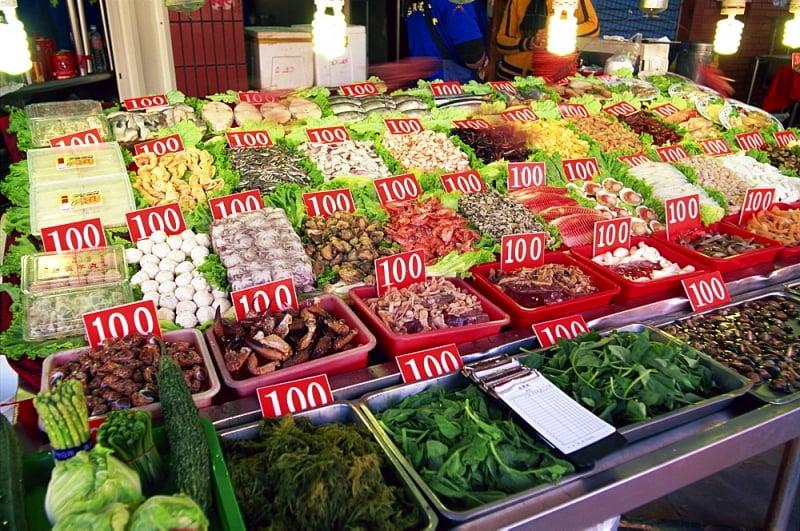 chơi gì ở Cao Hùng(Kaohsiung) chợ