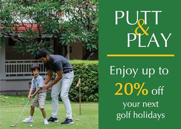 Putt & Play: Enjoy up to 20% Savings on your Golf Holidays with Centara Hotel