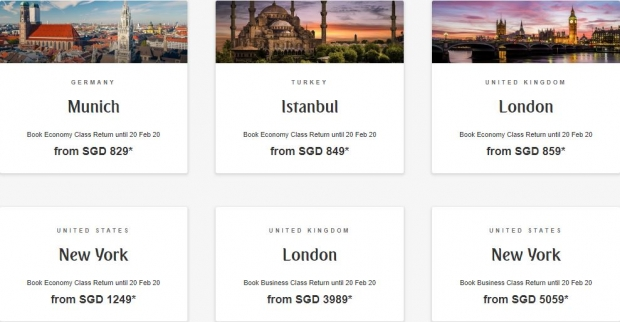 Discover the World with Emirates from SGD829 1