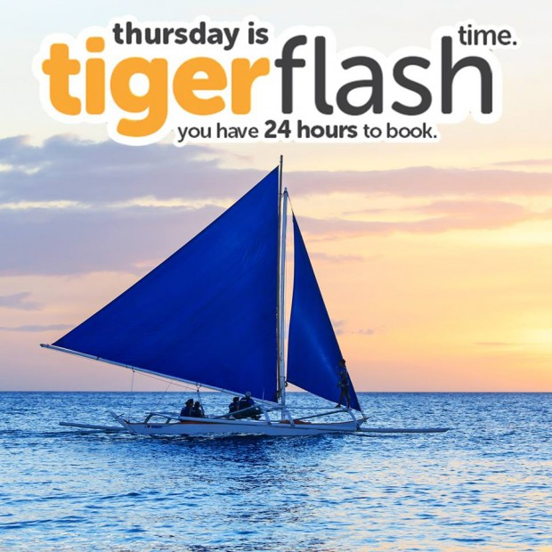 TigerFlash is on! Fly Around Asia with Tigerair from SGD39