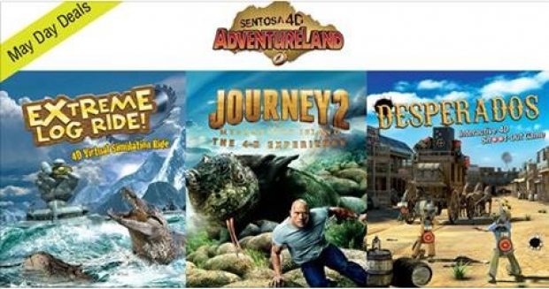 1-FOR-1 Promotion in Sentosa 4D AdventureLand Exclusive for NTUC Member