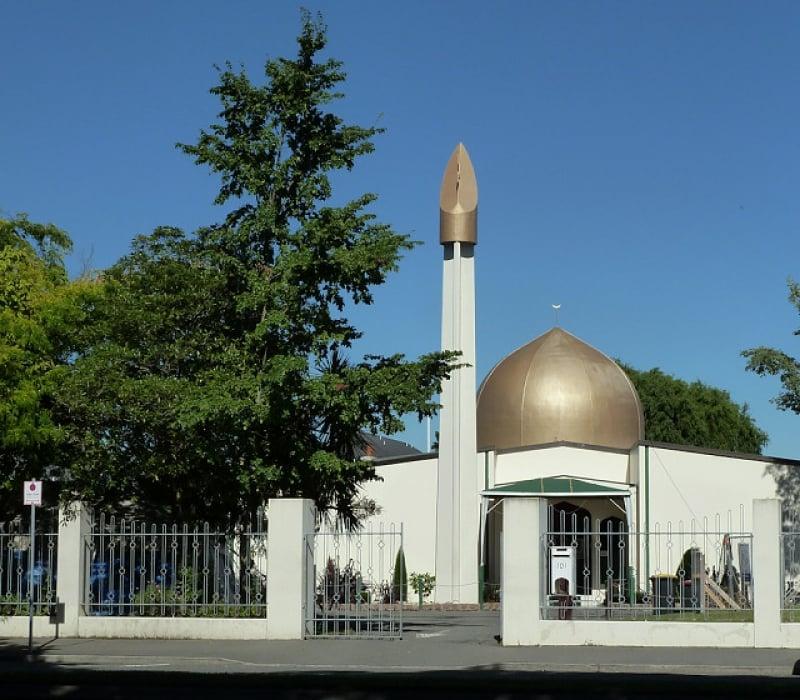 New Zealand mosque