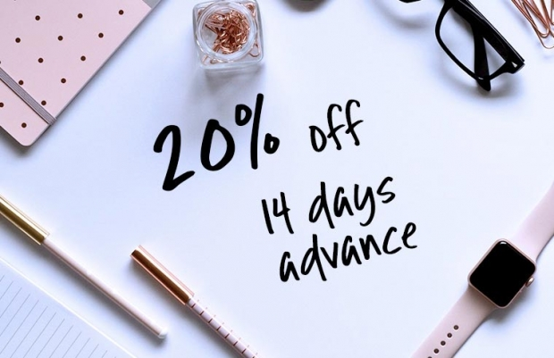14 Days Advance Booking Deal with Up to 20% Savings at Furama City Centre