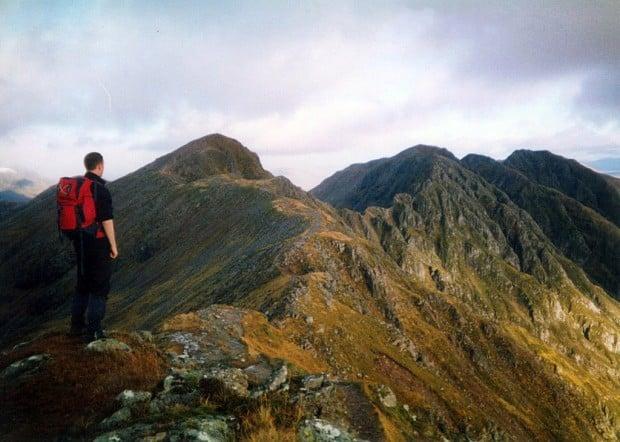 Aonach Eagach Ridge, Scotland