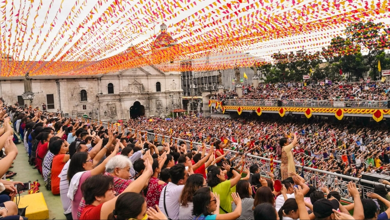 sinulog novena mass schedule