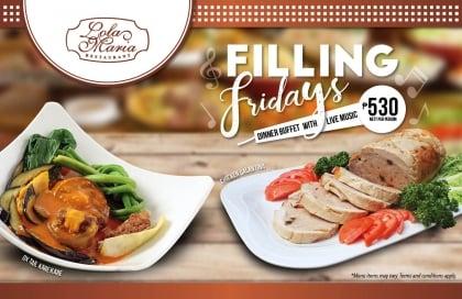 Filling Fridays