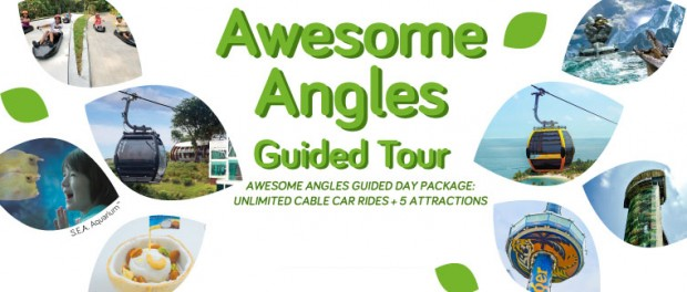 'Awesome Angles' Guided Tour Package with Singapore Cable Car