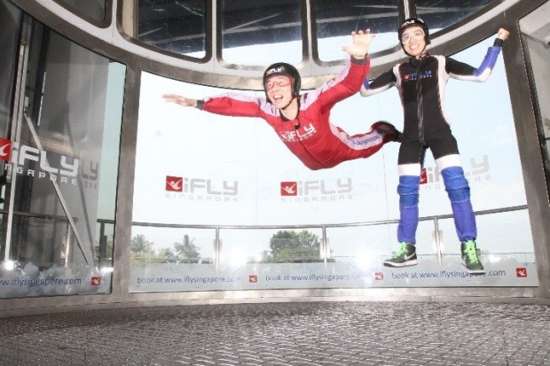 Get 10% Off iFly Singapore Package with American Express