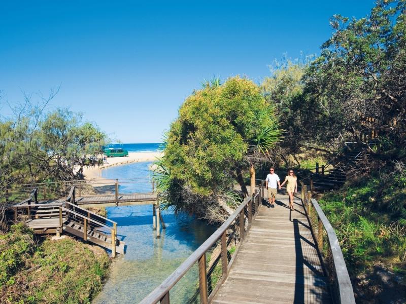 boardwalk at eli creek