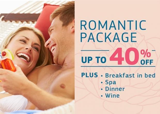 Romantic Getaway Package in Centara Grand Mirage Beach Resort, Pattaya