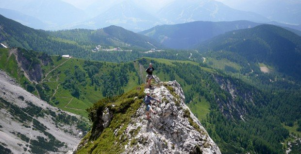 Via Ferrata, Austria and Italy