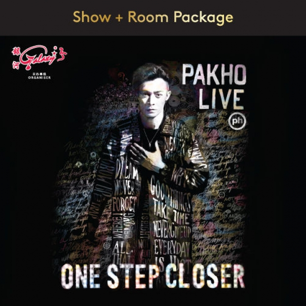 Pakho <One Step Closer> Live in Malaysia Package in Resorts World Genting