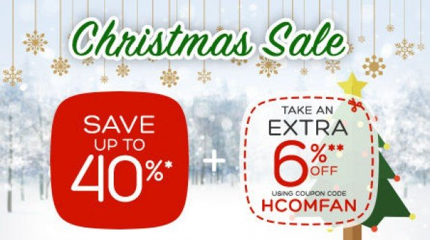 Save Up to 46% with Hotels.com Christmas Sale