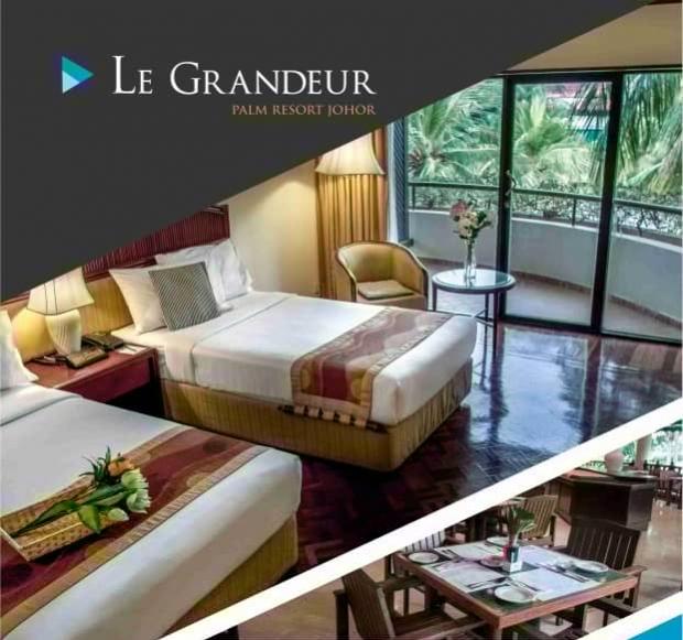 Super Duper Promotion with Room from RM130 at Le Grandeur Palm Resort Johor