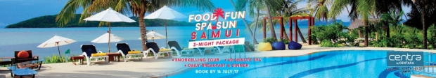 Food-Fun-Spa-Sun Getaway in Samui via Centara Hotel