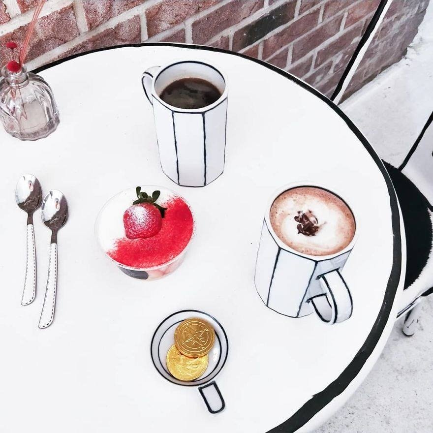 Cafe Yeonnam-dong coffee