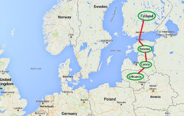 finland baltics budget travel