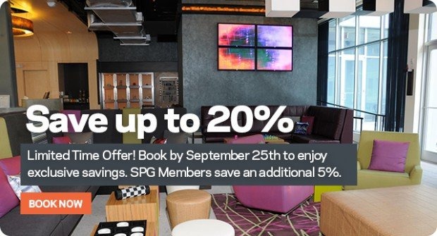 Save up to 20% or More on Stays Worldwide with Aloft Hotels