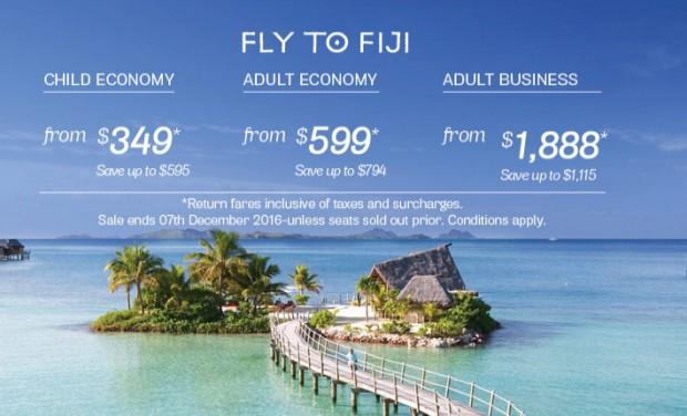 Fly to Fiji from SGD599 with Fiji Airways