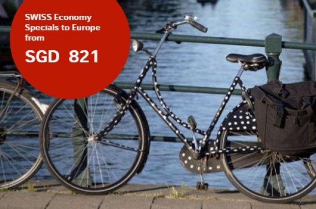 Fly to Europe with Swiss International Airlines from SGD820