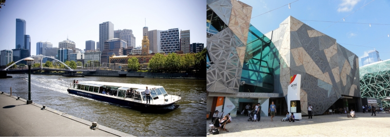 Melbourne River Cruise and Australian Centre for Moving Image