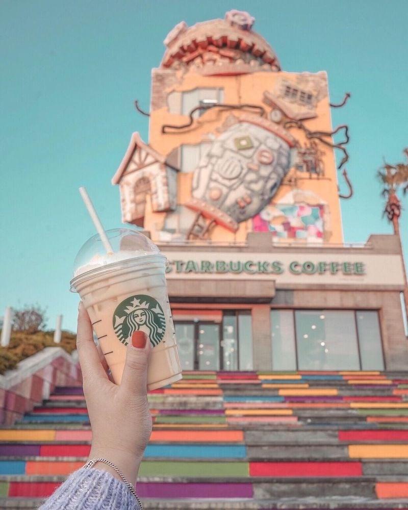 Starbucks Jeju Jungmun