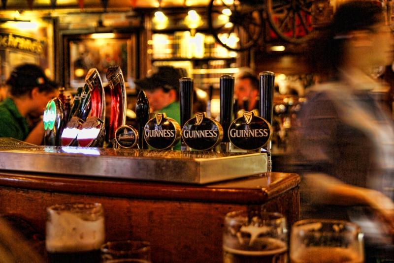 quán rượu Dublin