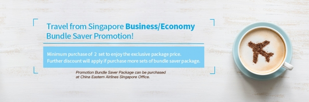 Travel from Singapore Saver Promotion with China Eastern Airlines
