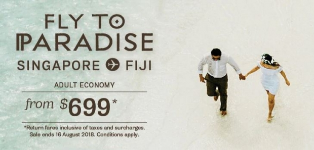Discover Tropical Paradise in Fiji and Beyond from SGD699 with Fiji Airways