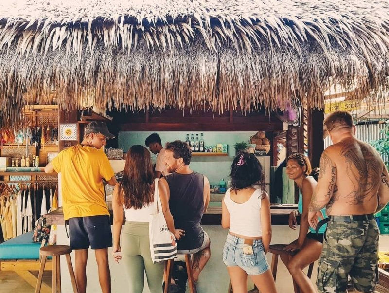 restaurants in siargao: fili beans