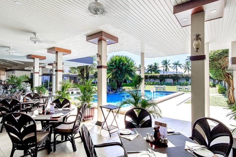 fiji gateway hotel poolside