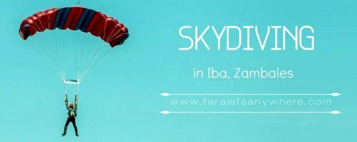 skydiving iba zambales
