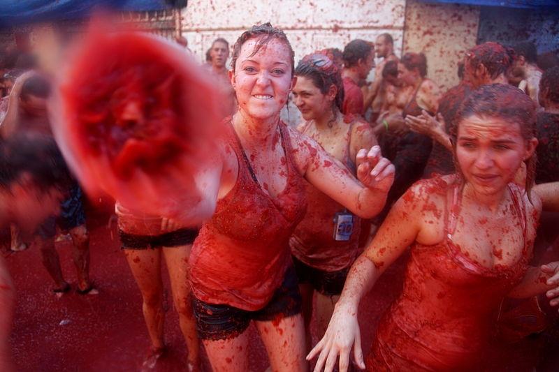 lễ hội vui nhộn đầy màu sắc của Tây Ban Nha