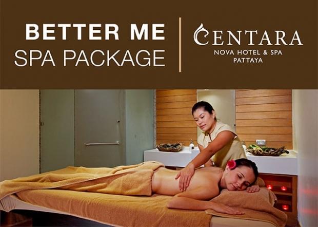 Better Me Spa Package at Centara Nova Hotel & Spa Pattaya