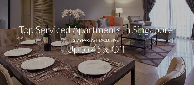 Top Serviced Apartments in Singapore at Up to 45% with Far East Hospitality