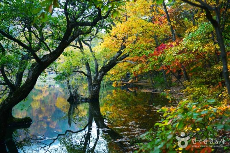 Jusanji Pond Juwangsan National Park