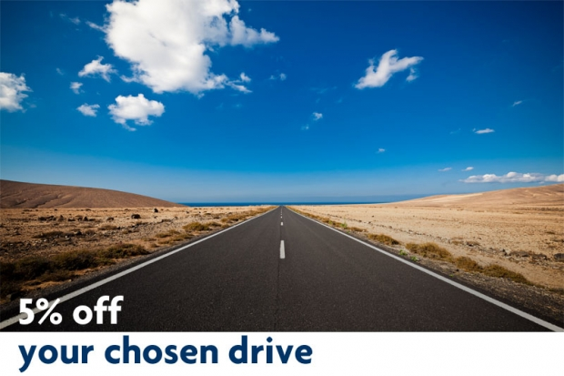 Enjoy 5% Off your Chosen Drive in Rentalcars.com with UOB Cards