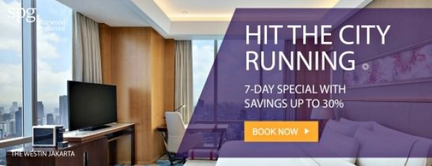 7 Day Special with 30% Savings from Participating Sheraton Hotels