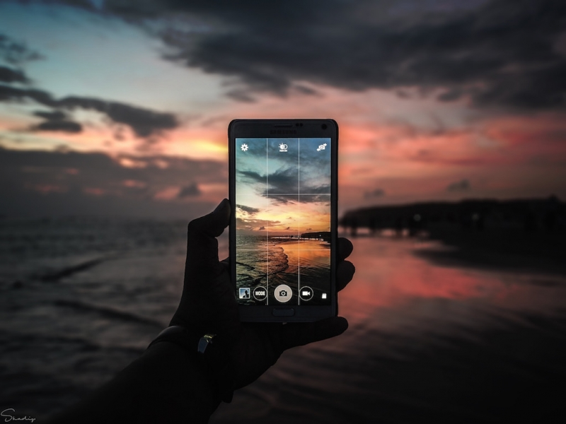 travel photography smartphone