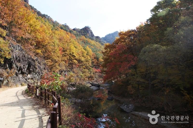 Juwangsan National Park nature parks south korea