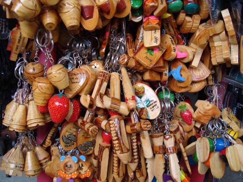 Philippine souvenirs: keychains