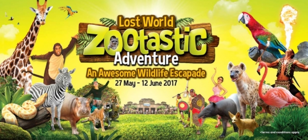 Awesome Wildlife Escape in Sunway Lost World Water Park from RM52