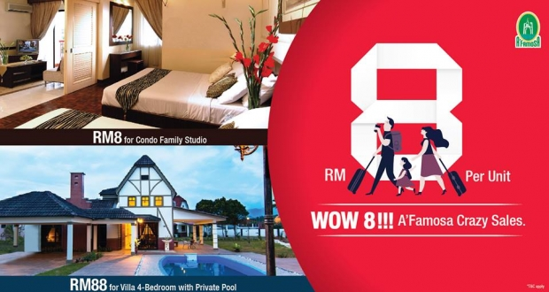 November Deal at A'Famosa Resort Starting from RM8