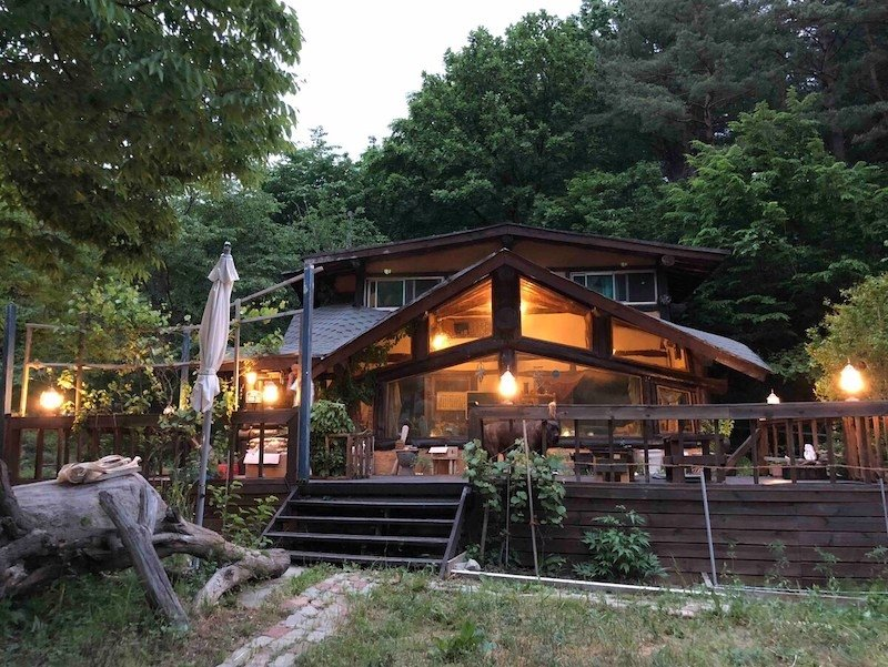 Cabin Airbnb in South Korea
