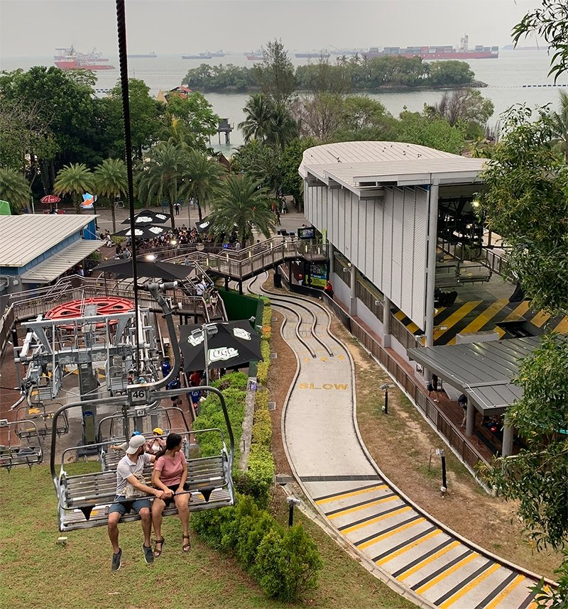 skyride at skyline luge sentosa
